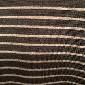 LuLaRoe Tops - Black and White Striped Baseball T (LuLaRoe Randy)